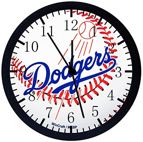 Los Angeles Dodgers Black Frame Wall Clock E73 Nice For Gift or Office Home Wall Decor 10