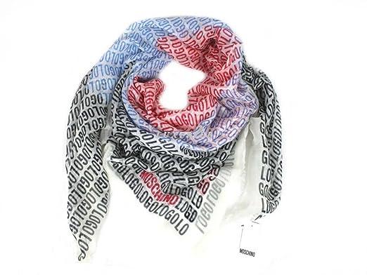 Moschino larioseta como écharpe pour femme foulard motifs 31225 écharpe en  forme de cœur dans 16a57ab6779d