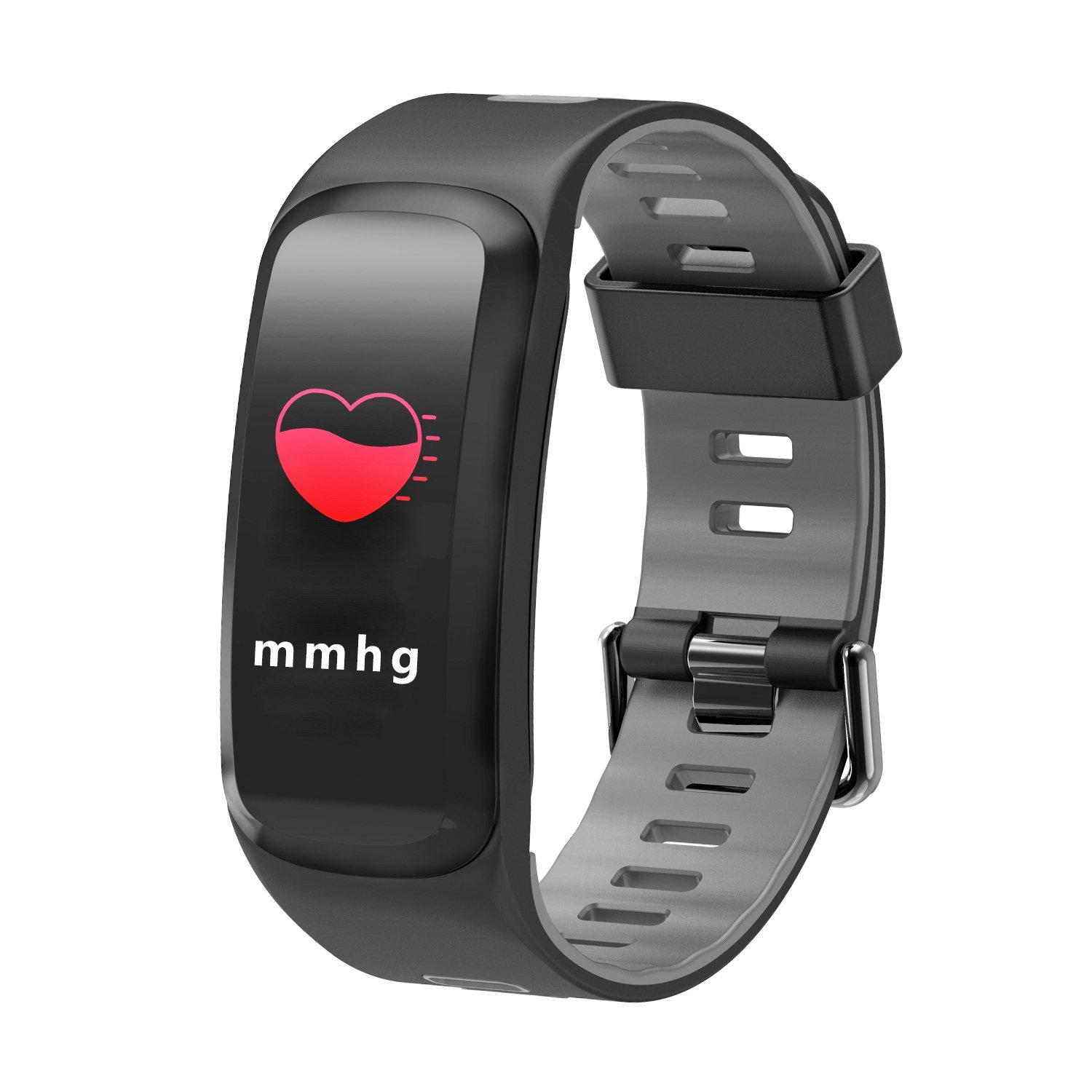 Byoung Smart Wristband for Kids,0.95 inch Touch Screen Pedometer IP68 Waterproof with Calorie Counter Message Notification Fitness Tracker HR with Blood Pressure/Oxygen Camera Remote for Women Men