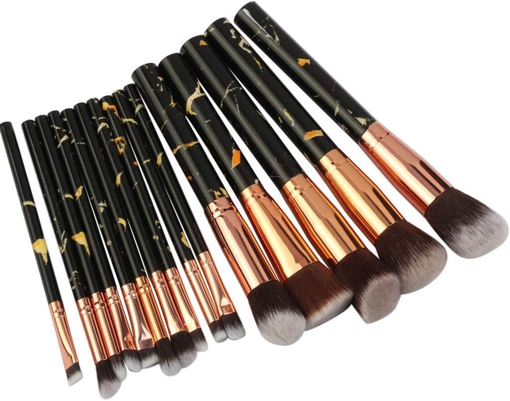 Posional Pinceaux de Maquillage Professionnels Blush Kit de 20PCS Haute Qualit/é Sourcil Poils Synth/étiques Vegan Beaut/é Maquillage Brosse pour Fond de Teint Correcteurs Les Yeux