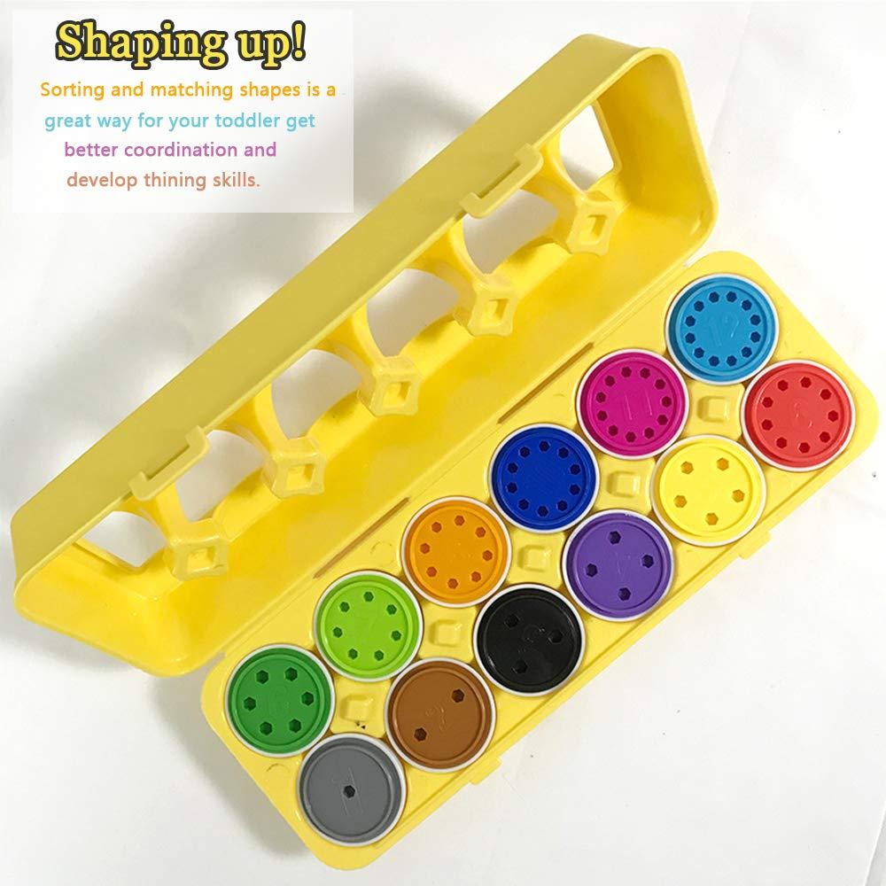 De Huevos Y Juguetes Niños Color Formas Para Educativo orCedxBW
