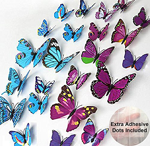 ElecMotive Beautiful Butterfly Decorations Background
