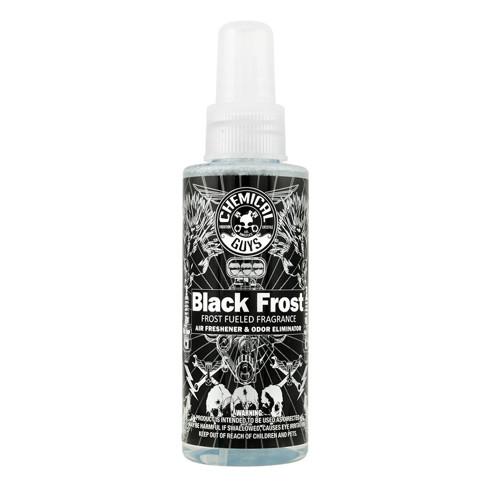 Chemical Guys AIR22404 Black Frost Air Freshener and Odor Eliminator - 4 oz. AIR_224_04