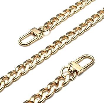 120cm Purse Chain Strap Handle Shoulder Crossbody Handbag Bag Metal Replacement