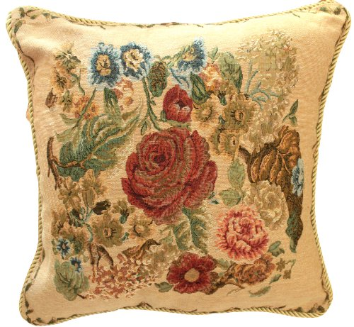 Tache  Country Rustic Morning Meadow Cushion Throw Pillow