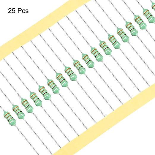 Sourcing Map 25stk 0512 Bunter Ring Induktivität 470uh 1w Axialer Rf Drosselspule Induktivität Gewerbe Industrie Wissenschaft