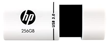 HP x765w USB 3.0 256GB Flash Drive (White) Pen Drives at amazon