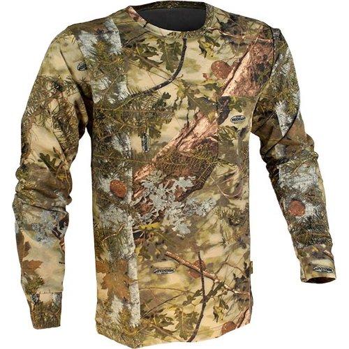 King's Camo Cotton Long Sleeve Hunting Tee, Mountain Shadow, XX-Large