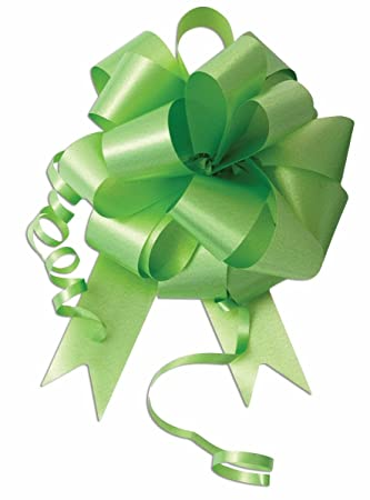 10 5 Mint Green Pull Bow Pew Bows Wedding Decorations Christmas Gift Wrap