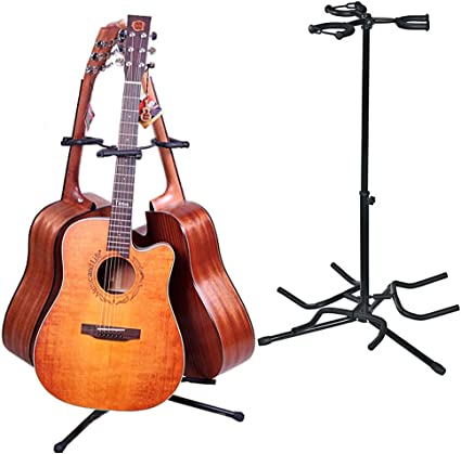 Malayas Soporte para Guitarra, Trípode Soporte para 3 Guitarras ...