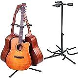 Malayas Soporte para Guitarra, Trípode Soporte para 3 Guitarras, Soporte ajustable para Guitarra Eléctrica