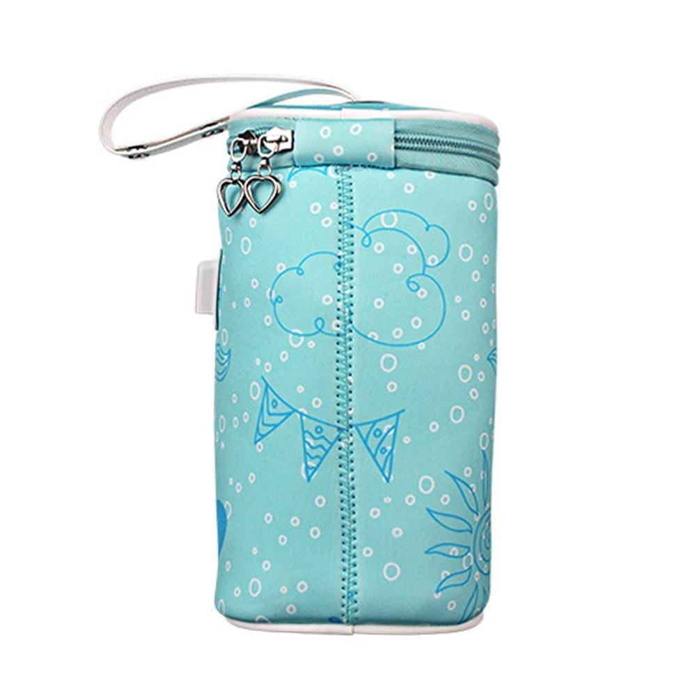 per Portable chauffe biberon Sac Température constante garder au chaud bébé Lait Manchons pour voyage USB