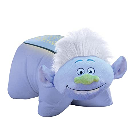 3f803746 Amazon.com: Pillow Pets DreamWorks Trolls Guy Diamond Dream Lites Stuffed  Animal Plush Night Light: Toys & Games