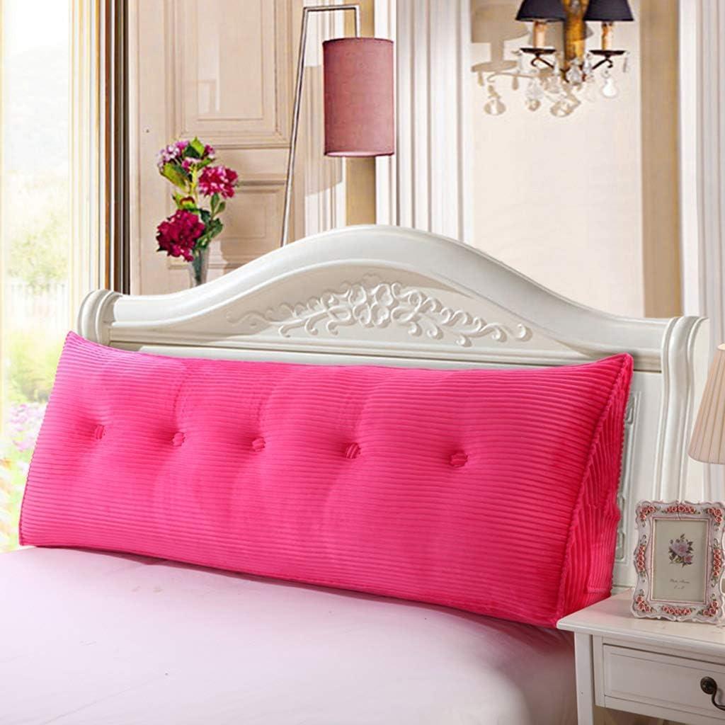 三角形の背もたれクッション、枕用の柔らかい枕、安らぎの枕、5色で洗える、5サイズ(色:C、サイズ:180 cm)