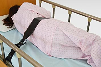 MEYLEE Cama de cuidado de cama para ancianos Cinturón de sujeción para riñón para uso con cama o silla, Marron oscuro: Amazon.es: Deportes y aire libre