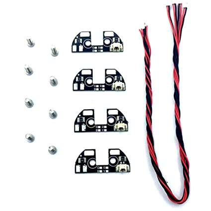 amazon com led light zmr model 4pcs apm 2 6 2 5 2 8 led tbs rh amazon com Eton Wiring Diagrams 110 ATV Wiring Diagram
