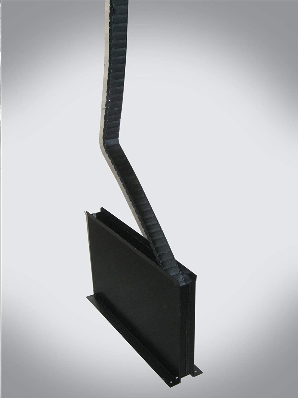 Cadena portacables LC17 Conductix Wampfler de nailon negro 1 metro ...