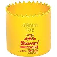 Starrett 63FCH048 Corona perforadora, Amarillo, 48 mm