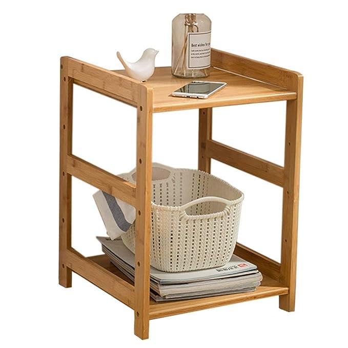 SACKDERTY - Mesa de café Estrecha, con Patas compactas de bambú ...