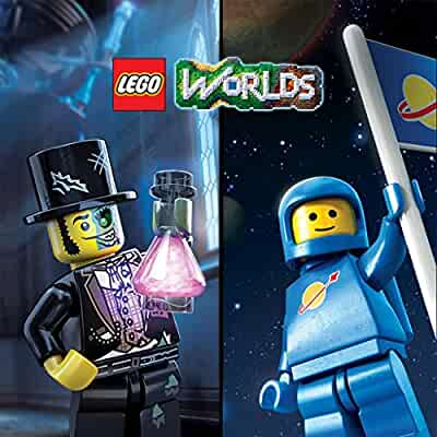 Amazon Com Lego Worlds Xbox One Digital Code Video Games