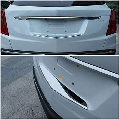 1x Front Right or Left Fender Emblem Chrome for Cadilalc 2016-2019 CT6 XT5