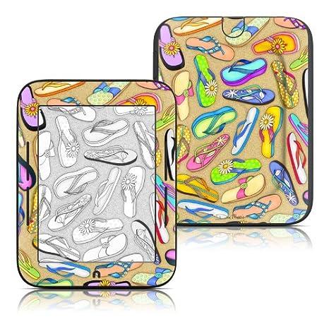 Chanclas diseño Protector de vinilo Skin adhesivo para Barnes y ...