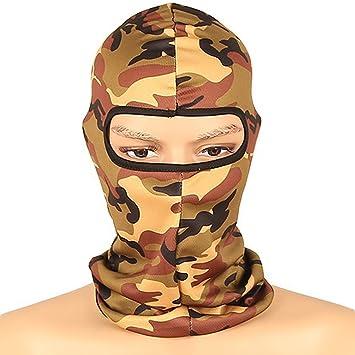 Amazon.com: savanaha camuflaje pasamontañas máscara de Ninja ...