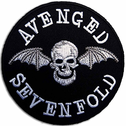AVENGED SEVENFOLD Rock Heavy Metal Music Band Iron On Patches # WITH FREE GIFT