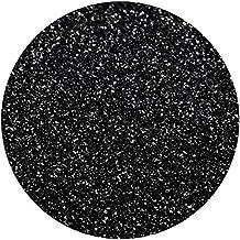 Vinyl Oasis Craft & Hobby Vinyl - Glitter Series Heat Transfer Vinyl - (1 Sheet) 12 in. x 20 in. - Black