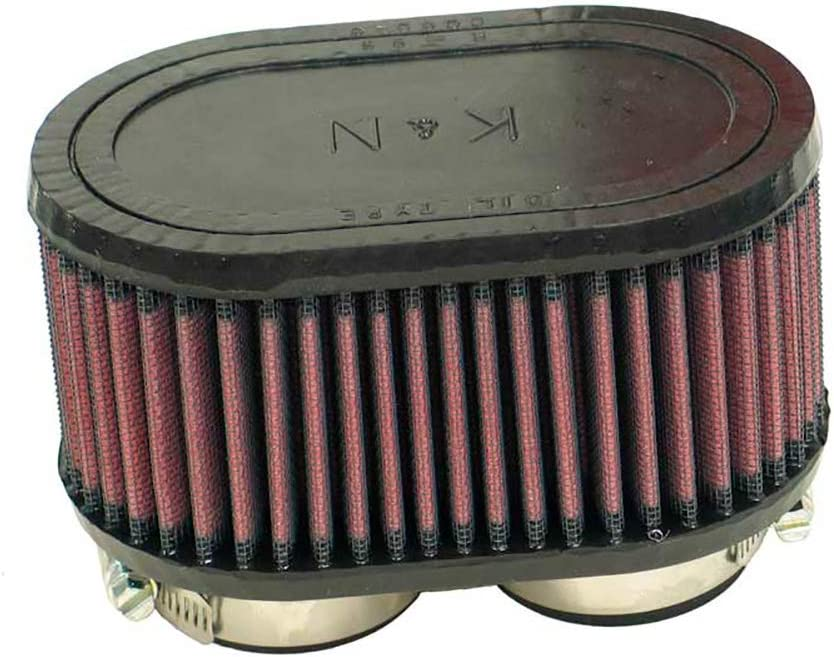 K and N R-1030 Washable and Reusable Car and Motorcycle Universal Rubber Filter