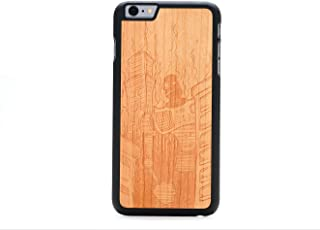 product image for CARVED Robot Doom by Augiewan Engraved Cherry iPhone 6/6s Plus Slim BK