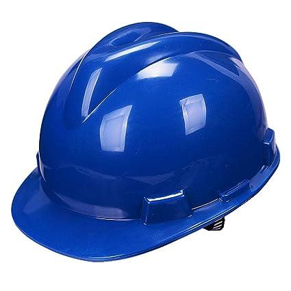 MZ JH& Casco de construcción Casco Ajustable con respiraderos fríos, ANSI-obediente, Equipo