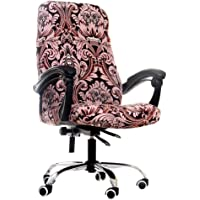 GETMOREBEAUTY Office Chair Cover Printed Stretch Office Desk Computer Chair Slipcover Universal Artistic Floral Modern…