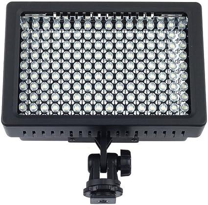Lightdow 160 ledes para cámara de vídeo Lámpara de iluminación LED ...