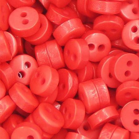 50pc 6mm 2Hole Mini botones pequeños de caramelo Botones de ...