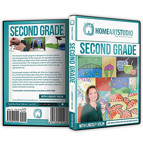 Home School Art Studio Program DVD with Lindsey Volin 2nd