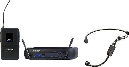 Amazon.com: Shure PGXD14/PGA31 PGX-D Sistema de micrófono inalámbrico digital con micrófono de auriculares PGA31: Musical Instruments