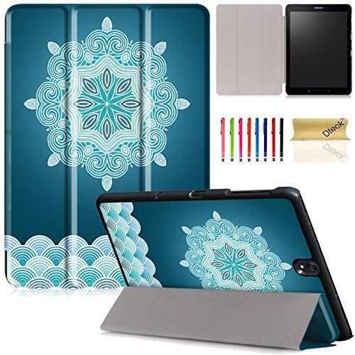 Dteck(TM) Ultra Slim Tri-Fold Smart Shell Galaxy Tab S3 Case