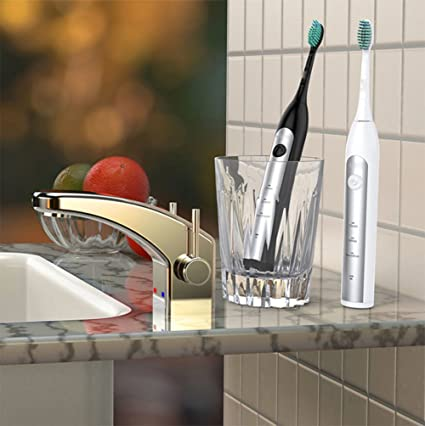Carga Inalámbrica Cepillo De Dientes Eléctrico Limpieza Profesional Cuidado Dental Sensible Cepillo De Dientes Eléctrico Sonic
