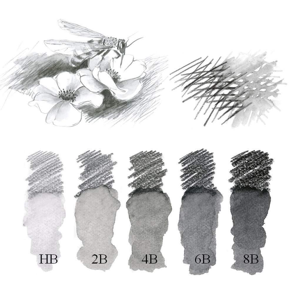 Faber-Castell 10104685 Crayon Graphite Aquarelle 6B