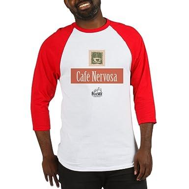 c1298849 Image Unavailable. Image not available for. Color: CafePress - Frasier:  Cafe Nervosa Baseball Jersey ...