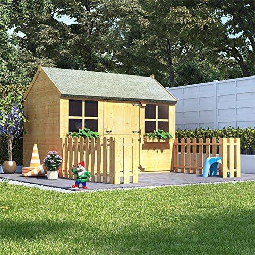 BillyOh - Casa de Juegos para niños (6 x 4 cm, Madera de Jengibre): Amazon.es: Jardín