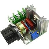 KKHMF 2000W SCR サイリスタ ハイパワー電子レギュレーター 調光ライト スピード温度監視