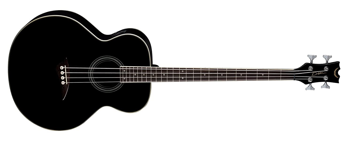 Dean Acoustic-Electric Bass, Classic Black Dean Guitars EAB CBK