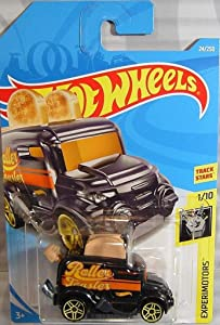 Hot Wheels 2019 Experimotors Roller Toaster (Toaster Car) 24/250, Black