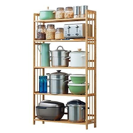 Shelf LYG Soporte De Carrito De Microondas, Estante De Cocina De ...