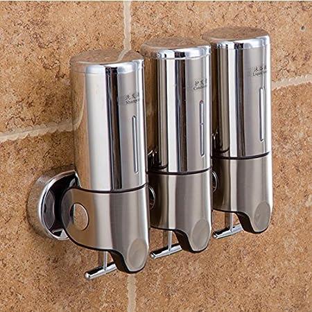 Gentil Generic A3 : Shampoo Shower Facility Shower Shampoo Dispenser Sapone  Liquido Dispenser Stainless Steel 500ml X3