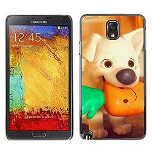 Be Good Phone Accessory // Dura Cáscara cubierta Protectora Caso Carcasa Funda de Protección para Samsung Note 3 N9000 N9002 N9005 // puppy cartoon vegetarian vignette