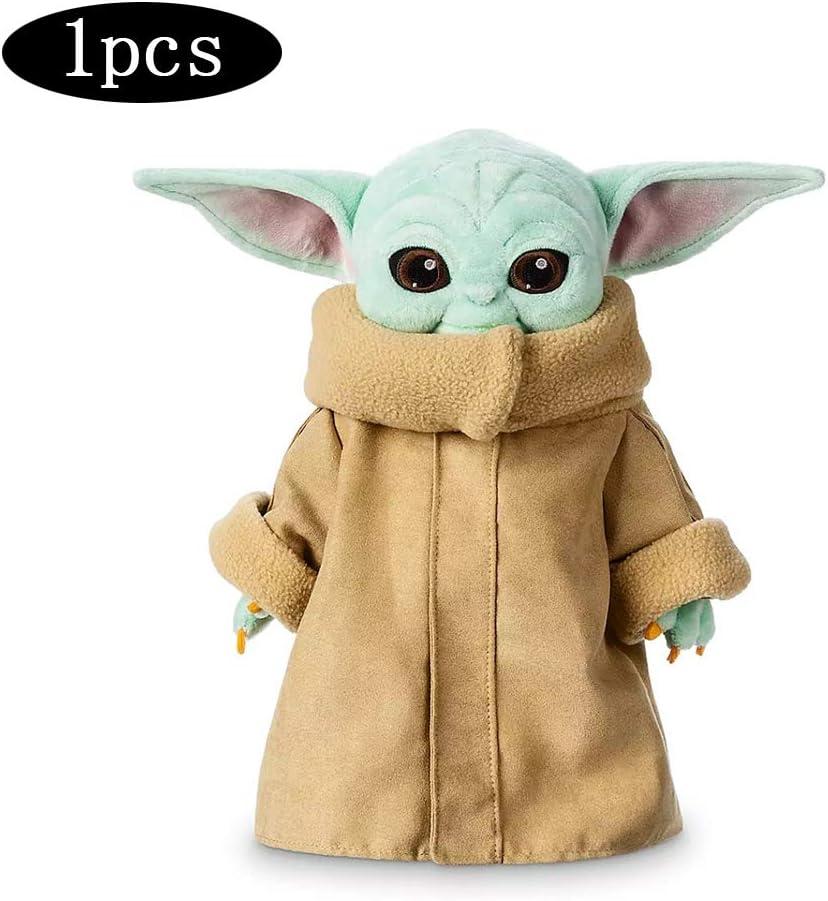 Demu&uu 30Cm Bebé Yoda Star Wars Juguete Maestro Yoda Fuerza Juguete Despierta Niños Felpa Star Wars9 Peluche Lindo Niño Relleno Juguete para Los Niños 1pcs