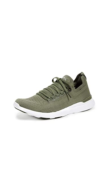 f51ba00bf9a3 APL: Athletic Propulsion Labs Women's Techloom Breeze Sneakers,  Fatigue/White, ...